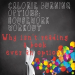 Calorie burning options